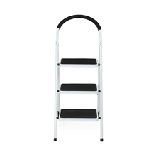 Nilkamal Vesta 3 Step Ladder, Black White