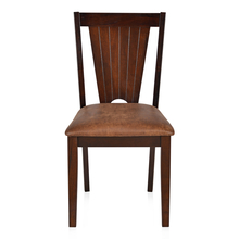 Spectrum Dining Chair with Cushion - @home by Nilkamal, Antique Cherry