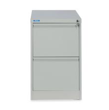 Nilkamal Titan 2 Drawer Filing Cabinet, Grey