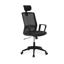 Nilkamal Everest High Back Office Chair, Black