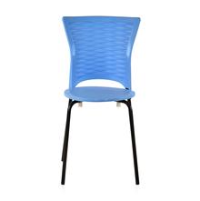 Novella 14 Mild Steel Leg Without Arm Without Cushion - @home Nilkamal,  blue