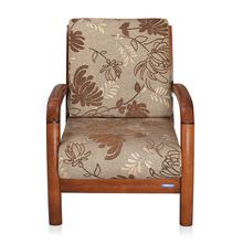 Nilkamal Rockford 1 Seater Sofa Dirty, Oak & Daisy