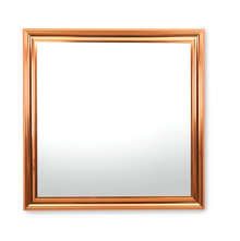 Reflection 80 x 80 cm Mirror - @home by Nilkamal, Rose Gold