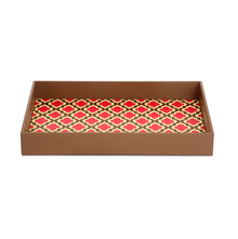 Jharokha Rectangle Wood Serving Tray - @home by Nilkamal