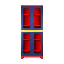 Nilkamal FB3 Freedom Cupboard - Pepsi Blue, Bright Red, Yellow