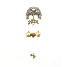 Wall Magnet Bird Small Windchime - @home by Nilkamal, Gold