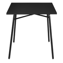Nilkamal Rosta Square Table, Black