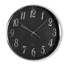 Simplistic Wall Clock - @home by Nilkamal, Black