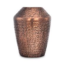 Trojan Metal Small Vase - @home by Nilkamal, Copper