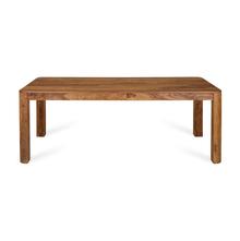 Granada 8 Seater Dining Table - @home by Nilkamal, Natural Walnut