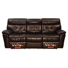 Beverly 3 Seater Sofa with 2 Electric Recliner - @home by Nilkamal, Burgundy