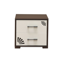 Angel Night Stand - @home Nilkamal,  brown