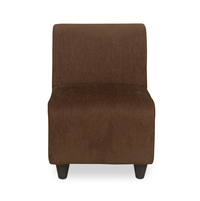 Bolt 1 Seater Sofa without Arm - @home by Nilkamal, Brown
