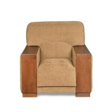 Laos 1 Seater Sofa - @home by Nilkamal,  brown