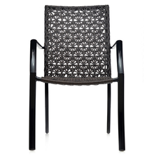 Harry Chair With Arm - @home Nilkamal,  black