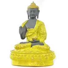 Bodhisatva Ghayana Showpiece - @home Nilkamal,  yellow