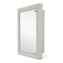 Gem Mirror Cabinet - @home by Nilkamal,  ivory