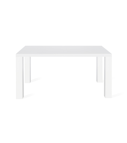 Maize 6 Seater Dining Table - @home By Nilkamal, Ivory