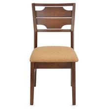 Olenna Dining Chair With Cushion - @home Nilkamal,  walnut