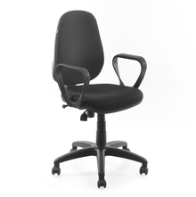 Nilkamal Finesse Office Chair, Black