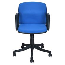 Nilkamal Lead Low Back Office Chair, Blue