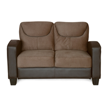 Holmes 2 Seater Sofa - @home by Nilkamal, Sepia Brown