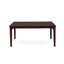 Terrano Dining Table 6 Seater - @home Nilkamal,  brown