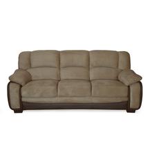 Mimosa 3 Seater Sofa - @home by Nilkamal, Honey Brown