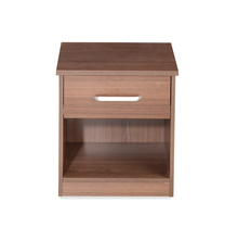 Sansa Night Stand - @home by Nilkamal, Walnut