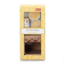 Lemon Grass Tealight Burner with oil - @home by Nilkamal