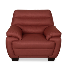 Bradley 1 Seater Sofa - @home by Nilkamal, Maroon