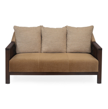 Chevy 3 Seater Sofa - @home by Nilkamal, Latte Brown