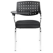 Study Writing Pad Chair - @home By Nilkamal, Crepe Black