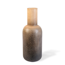 Large Wooden Bottle Vase - @home by Nilkamal