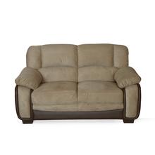 Mimosa 2 Seater Sofa - @home by Nilkamal, Honey Brown
