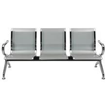 Nilkamal Italia 3 Seater Bench - Silver