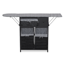 Vera Ironing Cabinet - @home By Nilkamal,  black