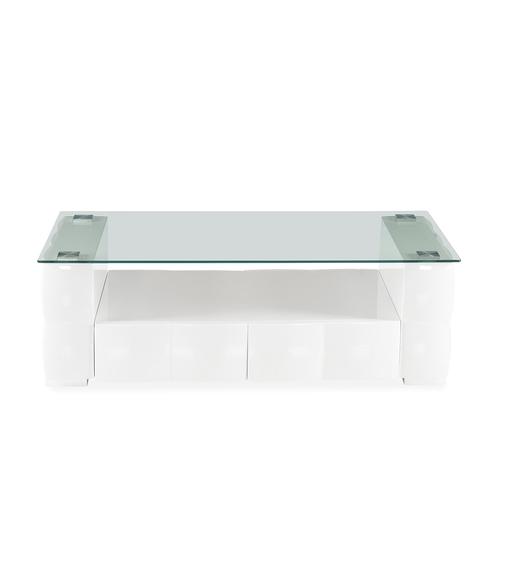 Brick Center Table - @home by Nilkamal, White